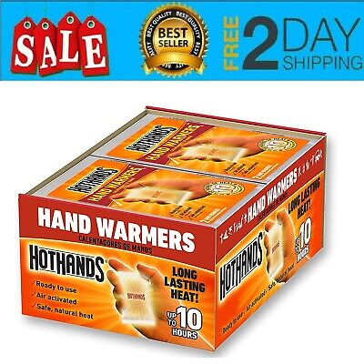 Hand and Body Warmer Super HotHands Warmers  Hot ( 40 Pair - 10 Hours Heat ) NEW