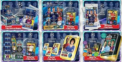 Topps Match Attax Champions League 2019/2020 Mega Set 3 Starter Display Blister