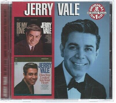 CD: JERRY VALE - Be My Love / Have You Looked Into Your Heart