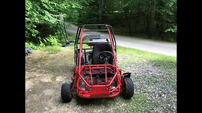 Zircon 150cc dune buggy, Used, Red/Black, Project