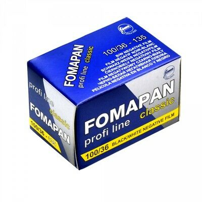 Foma Fomapan Classic 100 ISO Black & White Print Film, 35mm, 36 exposure