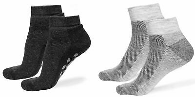 Alpaca Wool Quarter Ankle Socks 2X PAIRS for Men & Women - Thick Outdoor Hiking