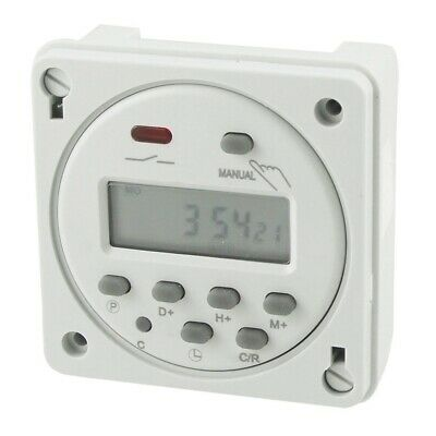 Cn101A LED digitale programmabile Timer elettronico AC 110V 16A C6U8