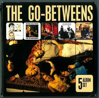 The Go-Betweens ‎– 5 Album CD - Set Send Me A Lullaby Before Hollywood Tallulah