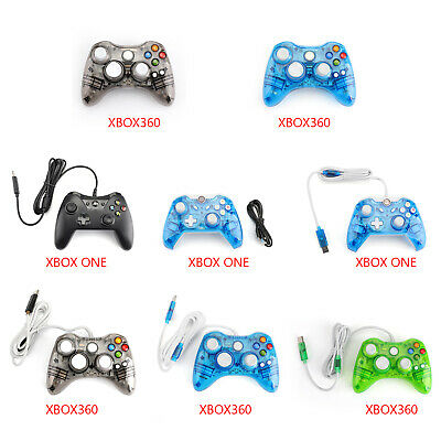 USB Wired Wireless Game Remote Controller Gamepad Fit Microsoft Xbox 360 One PC