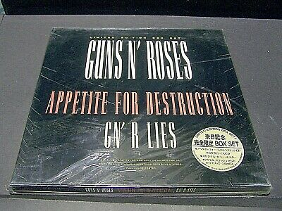 "GUNS N' ROSES -APETITE for DESTRUCTION+LIES+3"" HOLIDAY GREETINGS - BOXSET VOL 1"