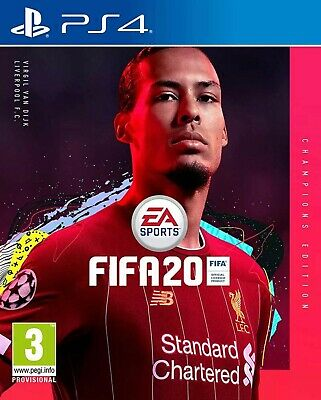 FIFA 20 Champions Edition (PS4) - SEALED AND BRAND NEW