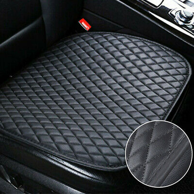 Universal Backless Car Seat Cover PU Leather Pad Premium Interior Accessories