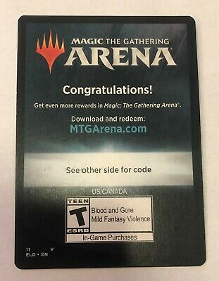 Magic The Gathering Arena 6 Free Boosters Throne Of Eldraine Message Code Only