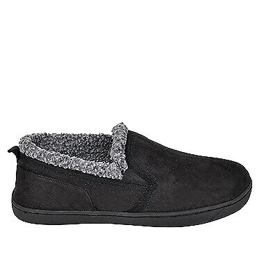 NEW Spendless Mens Greg Exist Soft and Fluffy Indoor Comfort Slip On Slippers
