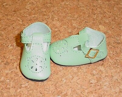 """Hopscotch Hill 14/"""" Betsy DOLL Shoes 50//23mm RED Slip-ons fit P90 Toni"""
