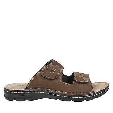 Suva 2 | Olympus | Mens Leather Comfort Flat Sandal | Spendless Shoes