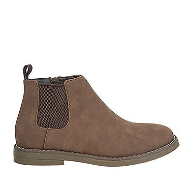 NEW Spendless Boys Vince Copper Cohen Side Zipper Up Elastic Side Ankle Boot
