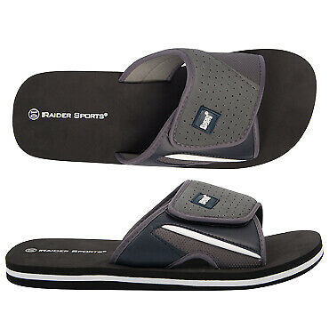NEW Spendless Mens Kenny Raider Sports Groove Sole Adjustable Slide