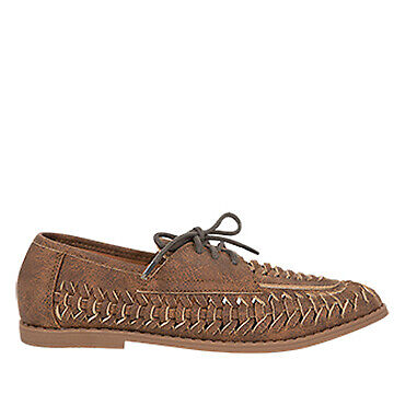 NEW Spendless Boys Tornado 8Mile Casual Dress Loafer Woven