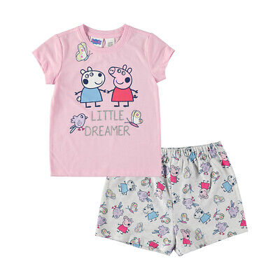 Peppa Pig Girls Summer Pyjamas New with Tags various sizes Free Postage