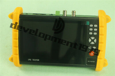 """7"""" Touch Screen IPC9600S POE ONVIF IP&Analogy camera test CCTV Tester New"""