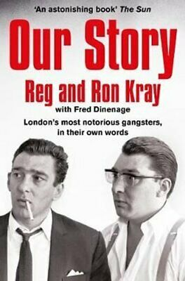 Our Story by Reginald Kray 9781509811427 | Brand New | Free UK Shipping