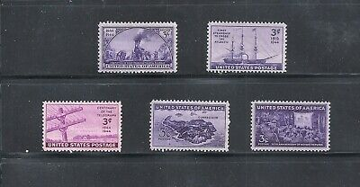 1944 - Commemorative Year Set - US Mint Stamps