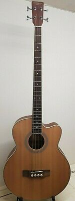 Countryman 4 String Electro Acoustic Bass Guitar (Model AR) in Natural Very Good