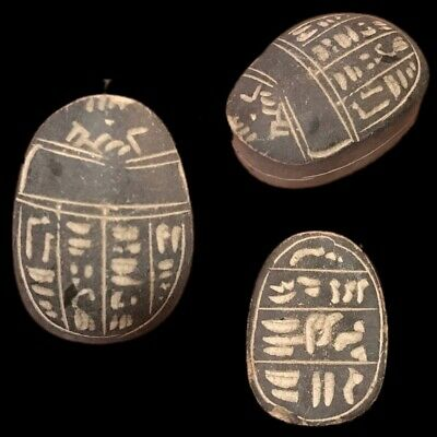 Beautiful Ancient Egyptian Scarab 300 Bc (7)