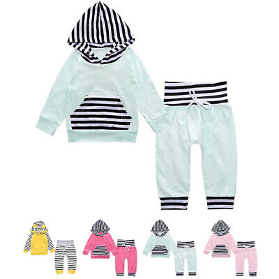 Girl Baby set Boy Outfit Children Long Sleeve Baby set Casual Round Neck