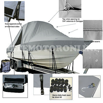 Sportsman Boats 241//242//247 Console Cover White 30722 Hard Top