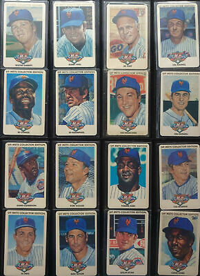 Phone Cards Prepaid Calling Card Mint / MLB 69 Mets Collectors Edition 32x