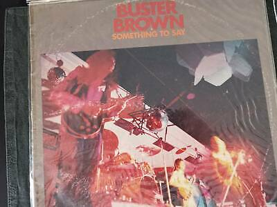Buster Brown - angry Anderson LP. Signed by band.