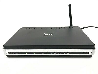 D-Link DIR-625 Wireless N Router Complete Excellent Working Condition Very Clean