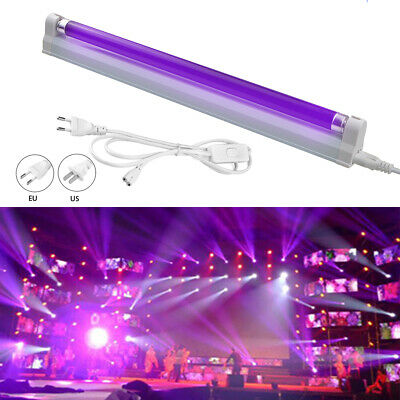 T5 UV Black Light Stage Disco Xmas Party Lamp Ultraviolet Fluorescence Detection