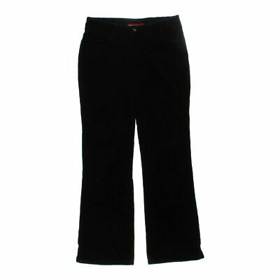 Unionbay Girls  Pants size JR 9,  black,  cotton, spandex, corduroy, metallic