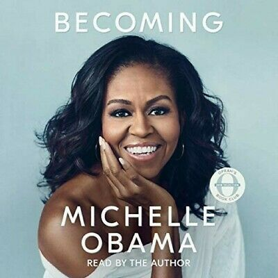 Becoming by Michelle Obama Audio book -Read by Michelle Obama, becoming,