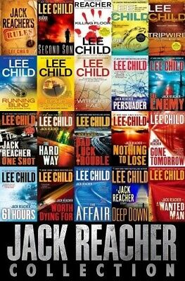 Jack Reacher Collection,Lee Child, Audio Books on DVD,Jack Reacher Audio Books