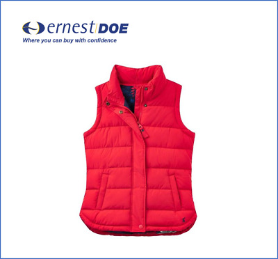 Joules Eastleigh Padded Gilet Ruby
