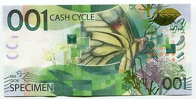 Butterfly Test Specimen 001 Cash Cycle KBA-GIORI Advertising note