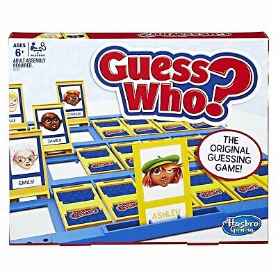Classic Guess Who? - Original Guessing Game Tabletop Gameboards Mystery Age 6+