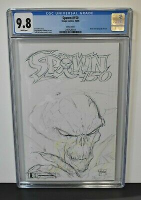 Spawn #150 (2005) CGC Graded 9.8 Todd McFarlane ~ Sketch Cover ~ Image Comics