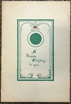Vintage 1935 Ritz French Restaurant, San Francisco Christmas Dinner Menu