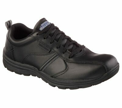 Skechers Work Relaxed Fit Flex Advantage Bendon SR Shoes Trainers Mens 77125EC