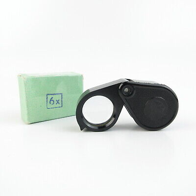 Carl Zeiss Jena Aplanatische Lupe / Edelsteinlupe 6x folding magnifying glass