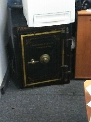 Vintage Safe originally from the old Franklin Theater built in 1908.