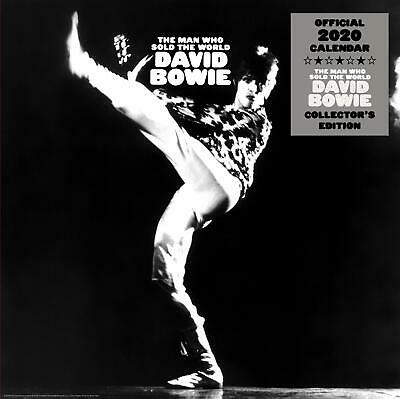 DAVID BOWIE (NEW OFFICIAL 2020 WALL CALENDAR) The Man Who Sold The World