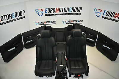 BMW F06GC Lederausstattung Comfort Activ Leder Leather DAKOTA Schwarz