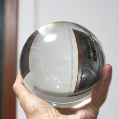 Glass Crystal Ball 30-50mm Sphere Photography Photo Props Lensball Decor