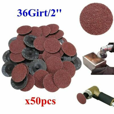 50x 2 Inch Polishing Grinding Wheels Abrasive Cleaning Disc Grit Accessory Tools