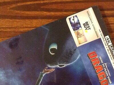 HOW TO TRAIN YOUR DRAGON  4K UltraHD  Limited Steelbook Edition [ USA ]