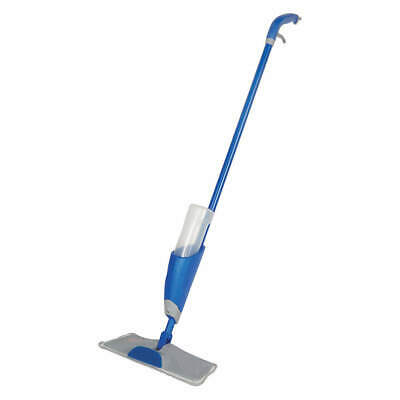 """QUICKIE Mop Pad,Blue Handle,4-1/2"""" Frame W, 2082578"""
