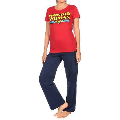 Wonder Woman Pyjamas I Ladies Wonder Woman PJs I Wonder Woman Pyjama Set