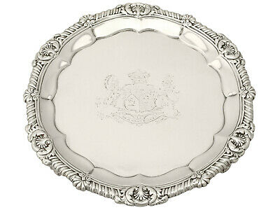 Antique Sterling Silver Salver by Paul Storr - George IV